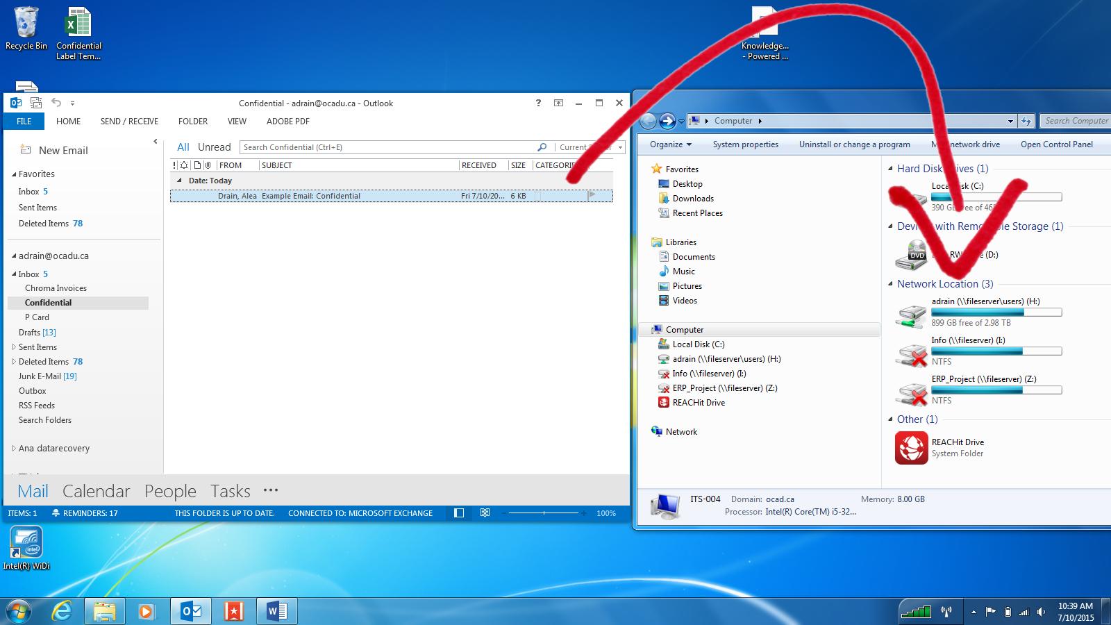 Email Folder