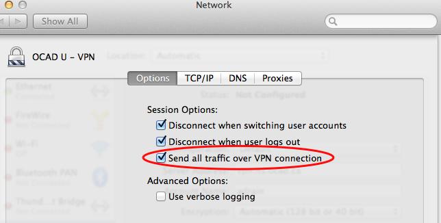Step 6 VPN Mac