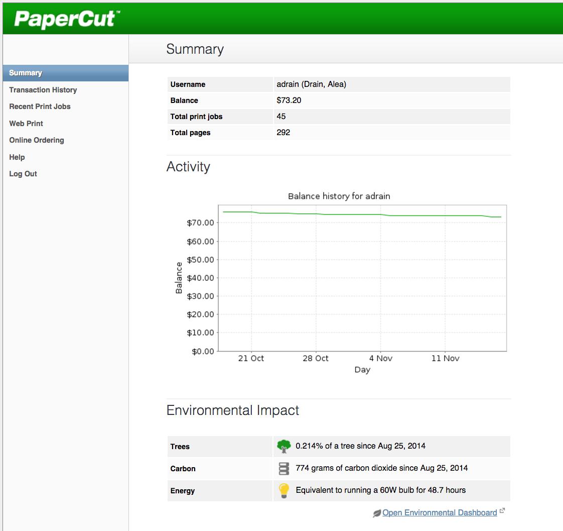 PaperCut Web 3