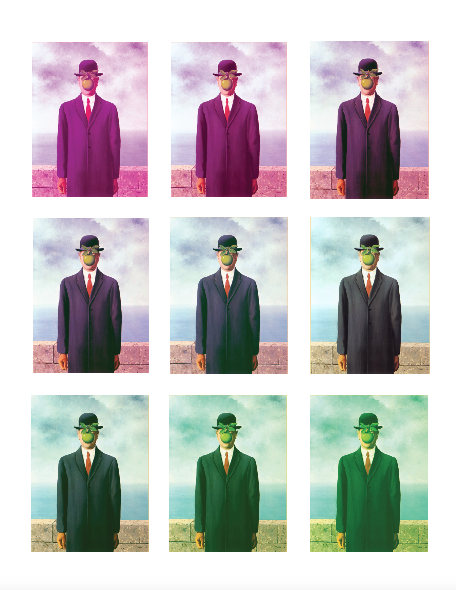 Magritte Tone Test