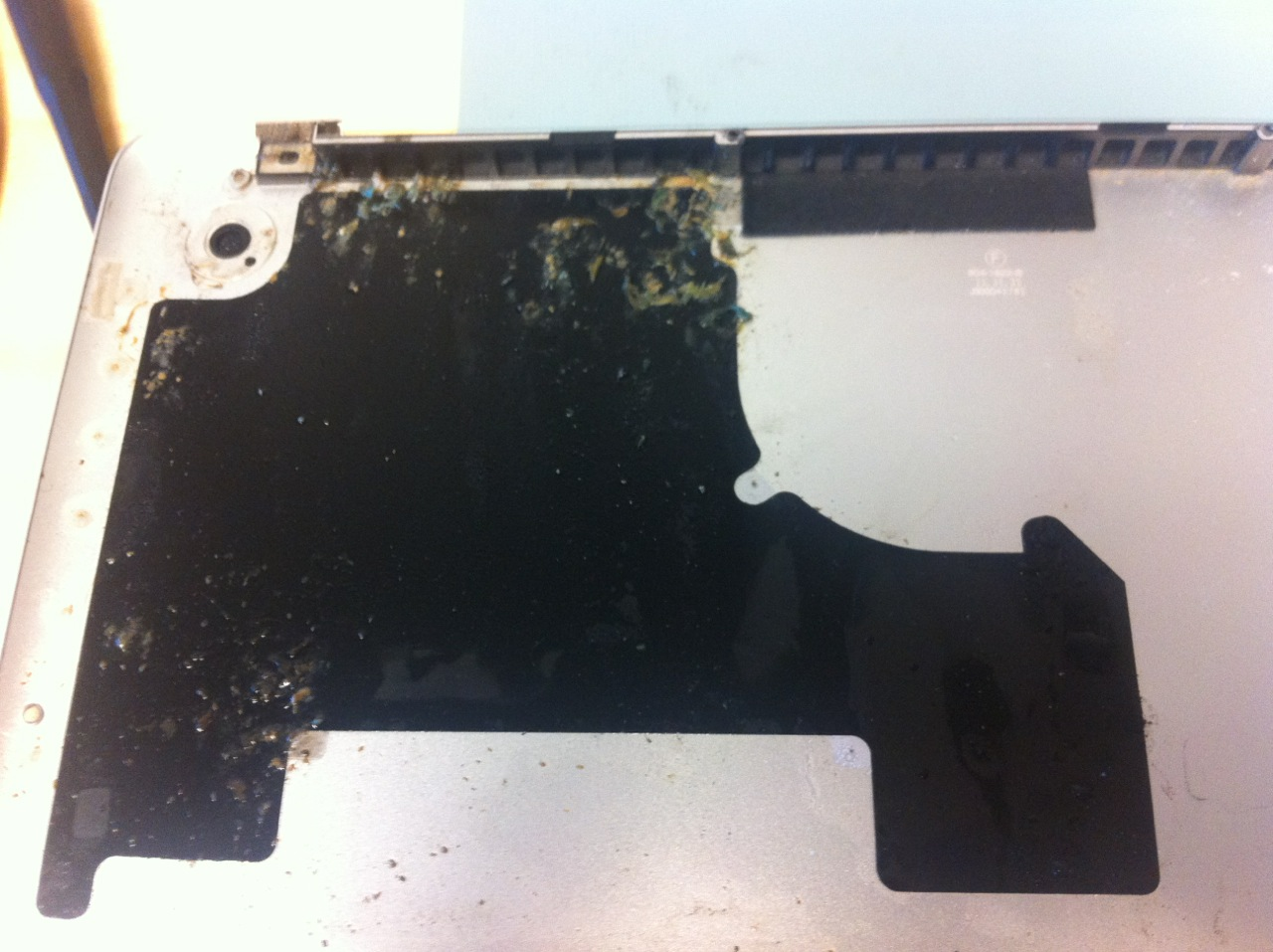 Damaged Laptop